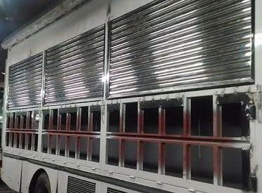 Our Client - HINO Motors Philippines Stainless Roll-up Door Truck Quezon City Manila Philippines