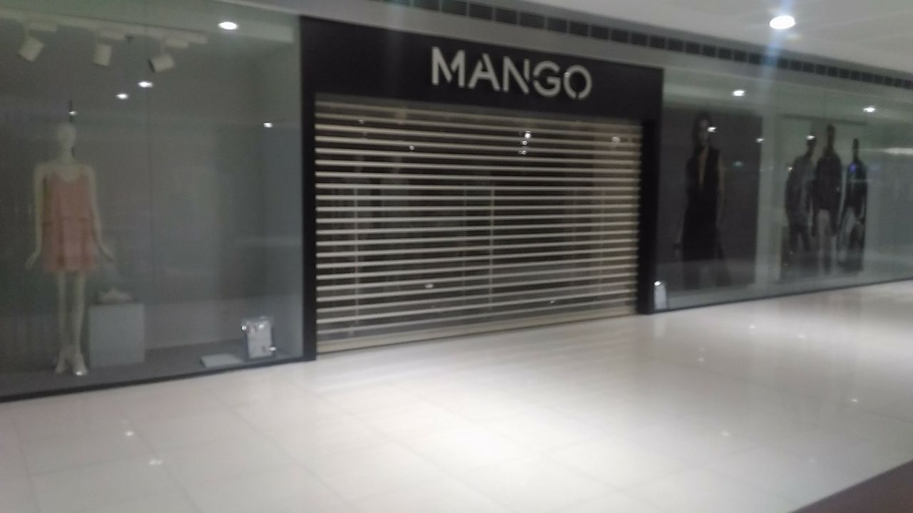 Our Client - Mango Megamall Polycarbonate Roll Up Door Mandaluyong City Manila Philippines